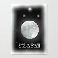lunar Canvas Prints featuring LUNAR by Laake-Photos