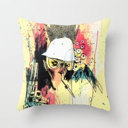 Pure Gonzo Throw Pillow