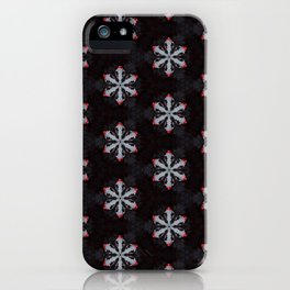 Fox Flowers iPhone Case