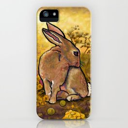 Abundance Bunny iPhone Case