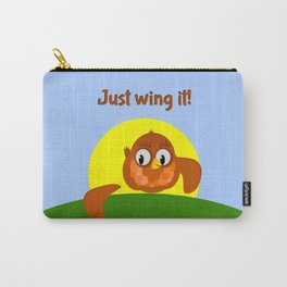 Just Wing It, Bird with a broken Wing Carry-All Pouch