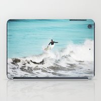 surfer iPad Cases featuring Surfer by Sherman Photography