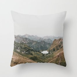 Gentle - landscape photography Throw Pillow