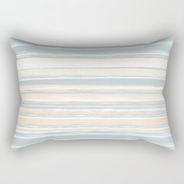 Beachfront Stripes Rectangular Pillow