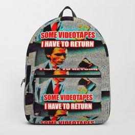 Return Those Videotapes Backpack