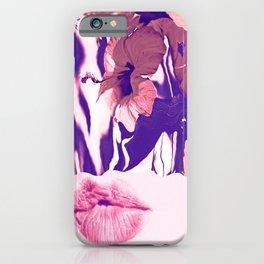 The Taste Of Summer Hibis - Kiss iPhone Case
