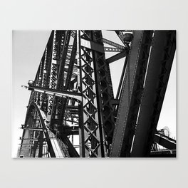 Harbour Bridge Details Canvas Print
