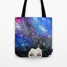 cosmic petals Tote Bag