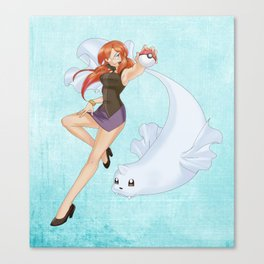 Loreley of the Elite Four Canvas Print