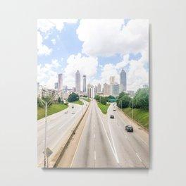 Atlanta Georgia Downtown Skyline Metal Print
