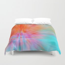 Abstract Big Bangs 002 Duvet Cover