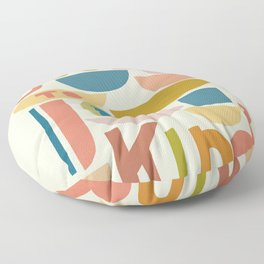 Cool to be kind #kindness Floor Pillow
