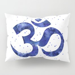 Ohm Symbol Blue Pillow Sham