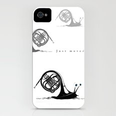 Just moved.  (French Horn) Slim Case iPhone (4, 4s)