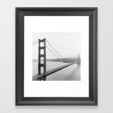 Golden Gate Lookout No. 1 Framed Art Print