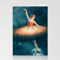 nan lawson Stationery Cards featuring Prima Ballerina Assoluta by Paula Belle Flores