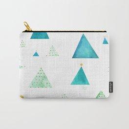 Arboles de navidad Carry-All Pouch