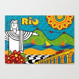 Rio de Janeiro 2015 Canvas Print