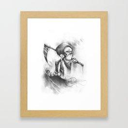 The Belittled Reaper Framed Art Print