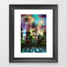 OLMEC Framed Art Print