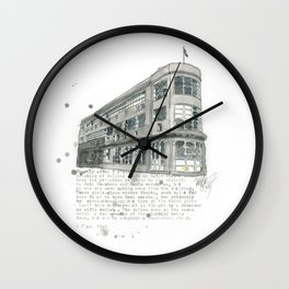 1 Market Lane Wall Clock