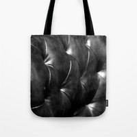leather Tote Bags featuring leather by the rogue sparrow