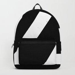 (TRIANGLE) (BLACK & WHITE) Backpack
