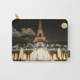 Eiffel Tower at Night Carry-All Pouch