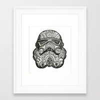 trooper Framed Art Prints featuring Trooper by Patricio Sebastian Pomies