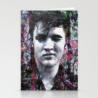 elvis Stationery Cards featuring ELVIS PRESLEY by Vonis