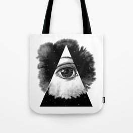 The Eye In The Sky Tote Bag