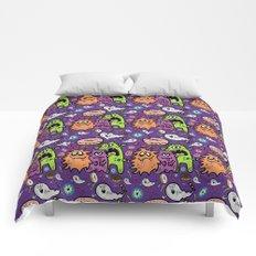 Greedy Monsters Comforters