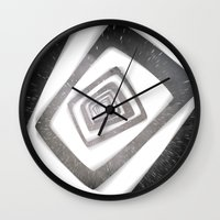 persona Wall Clocks featuring Into the TV (Persona 4) by ASHPLUS