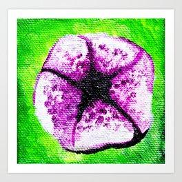 Purple Flower - Mazuir Ross Art Print