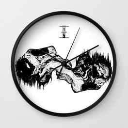 CHERNOBYL Wall Clock