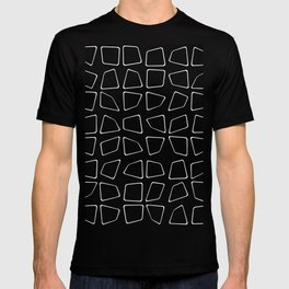 Changing Perspective - Simplistic Black and white T-shirt