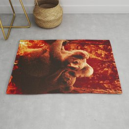 Save The Koalas Rug