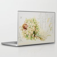 wedding Laptop & iPad Skins featuring Wedding Bells by Lucia