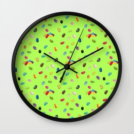 Android Eats: jellybean pattern Wall Clock