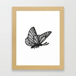 Butterfy Framed Art Print
