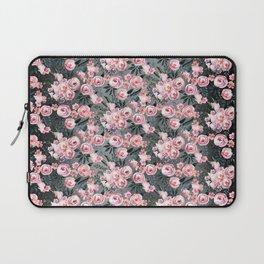 Night Rose Garden Pattern Laptop Sleeve