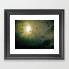 Wings Eternal Framed Art Print