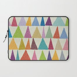 Analogous Shapes In Bloom. Laptop Sleeve