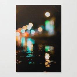 Hot lights Canvas Print