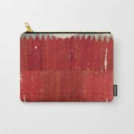 Fethiye  Antique Turkish Kilim Print Carry-All Pouch