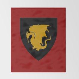 Pendragon Wyvern Throw Blanket