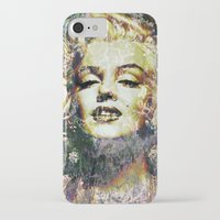 marilyn iPhone & iPod Cases featuring MARILYN by Vonis