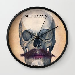 Rock the World / (Skull Collection) Wall Clock