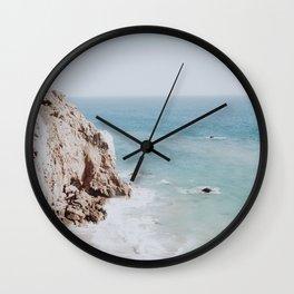 coast iii / malibu, california Wall Clock