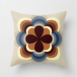 A kind of flower Throw Pillow